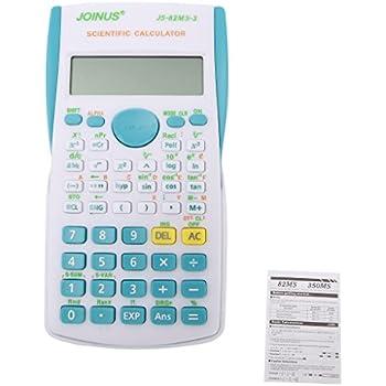 Amazon.com : Fang Sky Scientific Calculator, Student 240 Functions 2 ...