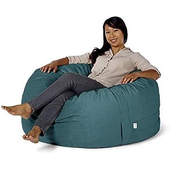 Take Ten Medium 40u201d Luxury Bean Bag Chair U2013 Multiple Colors / Seats 1 Adults