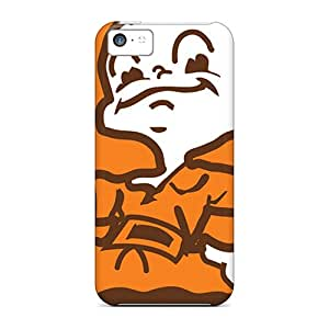 Protector Hard Cell-phone Cases For Iphone 5c With Support Your Personal Customized Beautiful Cleveland Browns Pictures TimeaJoyce