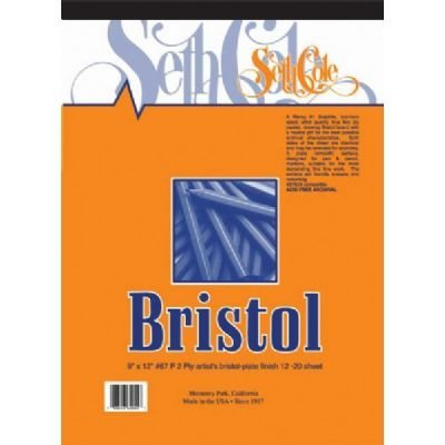 Bristol Board Pad Size: 17 x 14 by Seth - Size Bristol Board