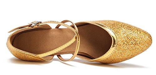 Joymod Gold Moderno Style2 MGM e A Heel Donna Jazz 7cm 4qxSYqwd
