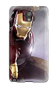 lintao diy New Galaxy Note 3 Case Cover Casing(iron Man 2 Movie Still)