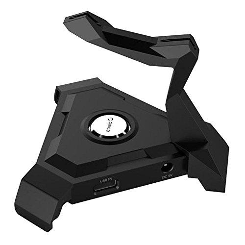 USB Hub, WinnerEco ORICO Type-A USB2.0 to 4 Ports USB2.0 Hub Mouse Cable Organizer Bracket