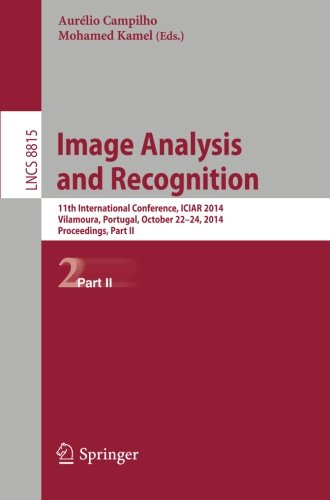 Image Analysis and Recognition: 11th International Conference, ICIAR 2014, Vilamoura, Portugal, October 22-24, 2014, Proceedings, Part II (Lecture Notes in Computer Science)