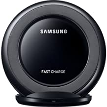 Genuine Samsung Qi Fast Wireless Charging Stand Docking Station Pad (EP-NG930BBEGWW) - Black