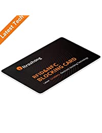 RFID Blocking Card- Protect Entire Wallet -NFC Bank Debit Credit Card Protector