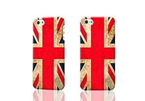 British English Scottish Welsh & Irish Flag 3D Rough iphone 4 4S Case Skin, fashion design image custom iPhone 4 4S , durable iphone 4 4S hard 3D case cover for iphone 4 4S, Case New Design By Codystore