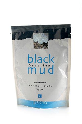 Sea Clay Body Wrap (Dead Sea Mud Mask - Black Mud Body Wrap by Jericho (21.1 Oz / 600 Gr) - Experience the Healing Proerties of Black Mud from the Dead Sea)