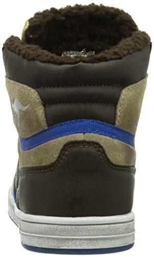 Kangaroos Kanga Stuu 2013 - Zapatillas de Baloncesto de otras pieles niño Braun (dk brown/sand 313)