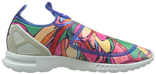 cheaper 9da52 04609 ... adidas Originals ZX Flux ADV Smooth Slip On Schuhe Damen Slipper Sneaker  Mehrfarbig S75686 Mehrfarbig
