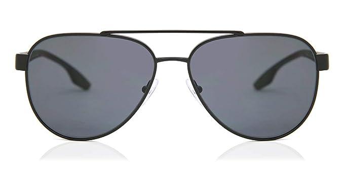 Prada Linea Rossa 0PS 54TS Gafas de sol, Black, 58 para ...