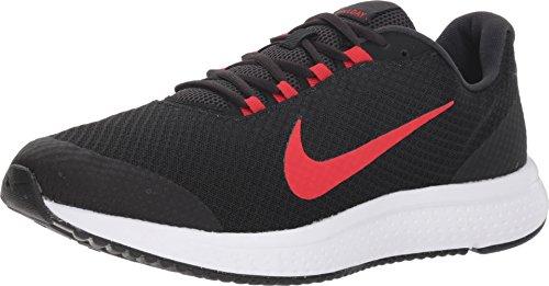 (Nike Men's RunAllDay Running Shoe, Oil Grey/University Red-Black-White (11 D(M) US))