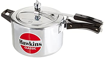 HawkinsCL51 5-Liter Classic New Improved Aluminum Pressure Cooker with Separator, Small, Silver