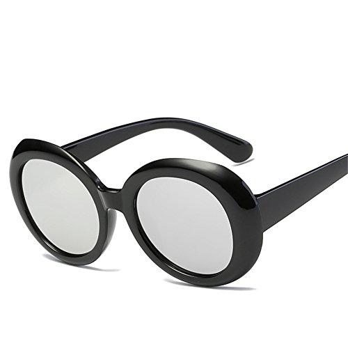 A 60m Gafas de las de 150 143 m y sol sol Europa unisex forman retro de América NIFG del marco gafas ovales x1wH54z