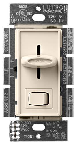 Lutron SCL-153P-LA Skylark CL 150-watt CFL/LED/Incandescent Dimmer, Light Almond