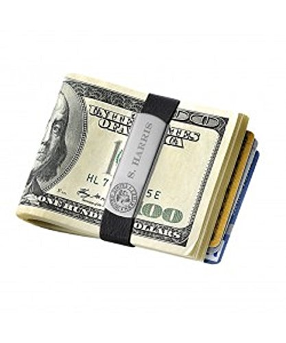 abd442a01fe2 Amazon.com: Budd Leather Stainless Steal Money Clip Wallet (GB9100 M ...