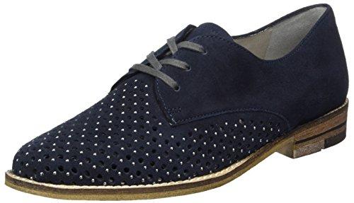 Ara Kent, Zapatos de Cordones Derby para Mujer azul (Midnight)