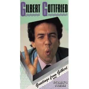Gilbert Gottfried: Greetings From Gilbert [VHS]