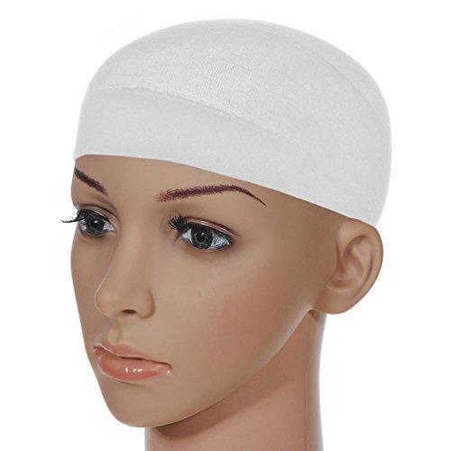 white wig cap - 1