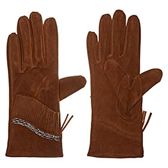 AMENAPIH Gloves for Women - Brown