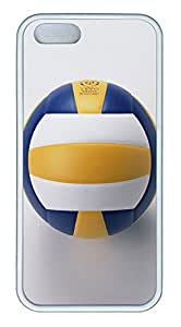 iPhone 5s Cases & Covers - Volleyball Custom TPU Soft Case Cover Protector for iPhone 5s - White
