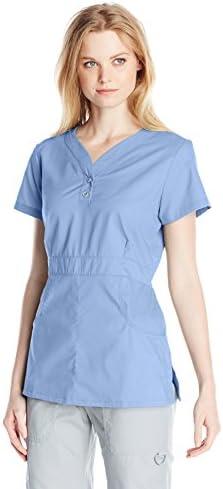 Details about  /KOI Women/'s Justine Button-Front Scrub Top Longer Choose SZ//color