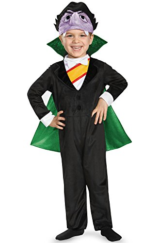 Disguise Baby Boys' Count Deluxe Infant Costume, Multi, 6-12 Months ()