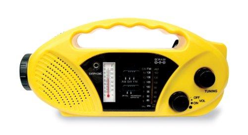 (Stansport Solar / Crank Powered Radio and Flashlight)