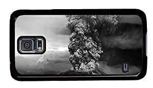 Hipster Samsung Galaxy S5 Case 1980 mount st helens eruption PC Black for Samsung S5