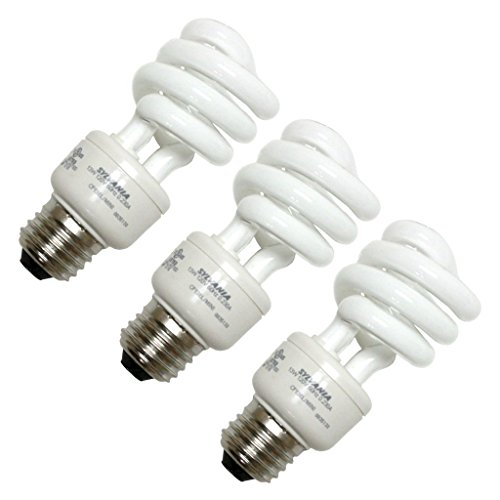 (Sylvania 26371 - CF13EL/SPIRAL/827 3PK Twist Medium Screw Base Compact Fluorescent Light Bulb)