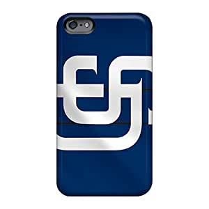 LavernaCooney Apple Iphone 6 Protective Hard Phone Cases Provide Private Custom Colorful San Diego Padres Skin [Emf10068InHW]