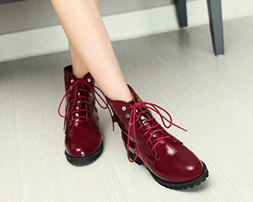 Red Donna HiTime Anfibi Anfibi Anfibi Winter Red HiTime HiTime HiTime Donna Donna Winter Winter Red fdqww1Fxg