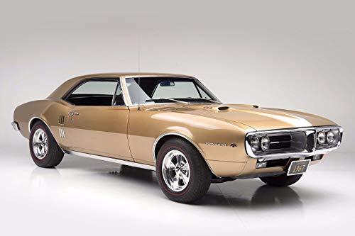 160378 1967 Pontiac Firebird 400 RAM AIR Muscle Decor Wall 24x18 Poster Print ()