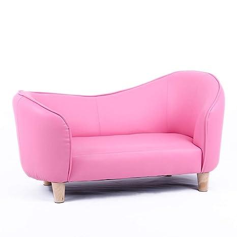 Amazon.com: Sofá infantil tapizado chaise salón, sofá ...