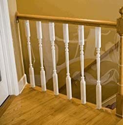 Cardinal Gates Banister Shield for Pets, 15\' Roll Clear