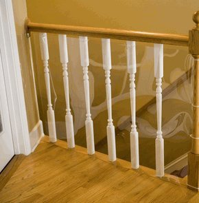 Kid Shield, 30' Roll for Banister Safety