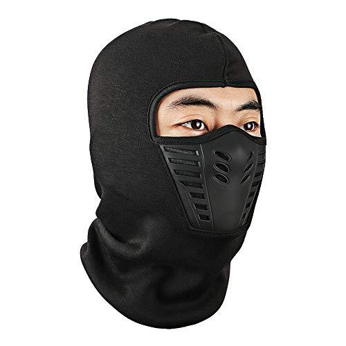 Balaclava Windproof Ski Face Mask, Echeer Winter Motorcycle Neck Warmer Tactical Fleece Hood Helmet Liner Mask for Skiing, Cycling, Hiking