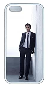 iPhone 5S Case, iPhone 5S Cases - Protective Slim Fit Soft Cover Case for iPhone 5/5s White Collar Matt Bomer Soft Case Cover White Skin Protective Case for iPhone 5/5S