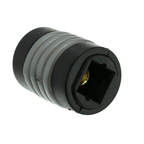 Cable Optical Coupler - Toslink Digital Optical Coupler/Gender Changer, Female to Female