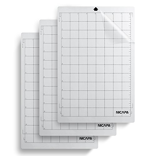 Nicapa Replacement Cutting Mat, 8 by 12-inch for Portrait (3 Pack) …