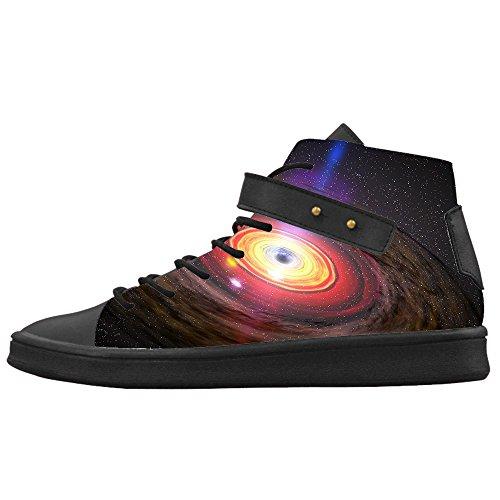 Custom Universo piatto Womens Canvas shoes Le scarpe le scarpe le scarpe.