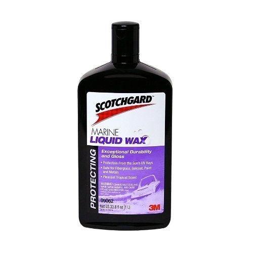 3M 09062 Marine Liquid Wax, 1 Liter
