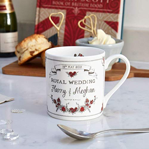 Royal Wedding Fine Bone China Mug - Made in Britain in Celebration of Harry & Meghan