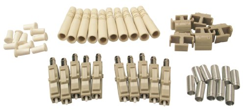 Shaxon FCLC-MM-10-B, LC Fiber Optic Connectors, Multimode, 10 Pack