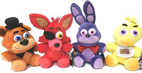 Top 4 best fnaf plushies old bonnie: Which is the best one in 2019?