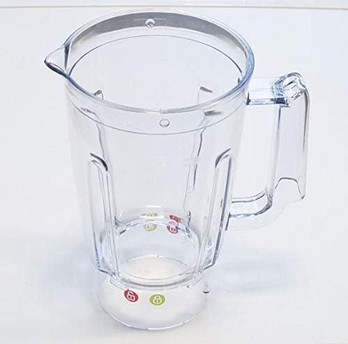 Moulinex Vaso mezclador de plástico para batidoras, licuadoras y ...