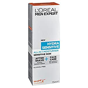 L'OREAL PARIS L'Oréal Men Expert Hydra Sensitive AllinOne Moisturizer, 75ml