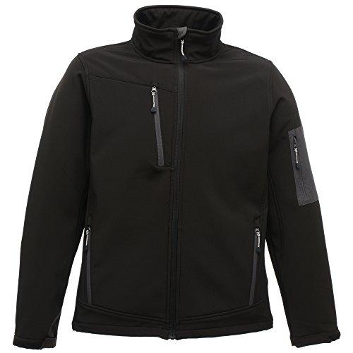 Regatta Womens/Ladies Arcola Waterproof Breathable Soft Shell Jacket Rojo clásico/gris