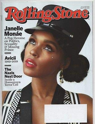 (Rolling Stone Magazine (May 17, 2018 - May 30, 2018) Janelle Monae Cover)