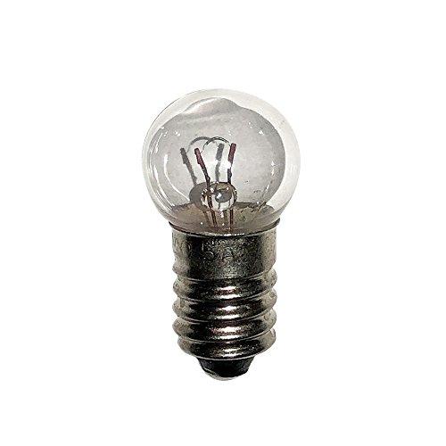 #425 Miniature Automotive Bulb 5V 0.5A G4.5 E10 (10 Pack) - Miniature Aircraft Usa